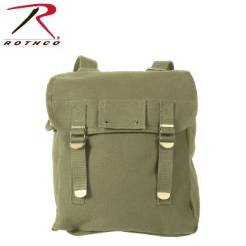 Rothco Heavyweight Canvas Musette Bag-Rothco