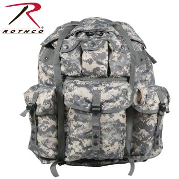 GI Type Large Army Digital Camo Alice Pack With Frame