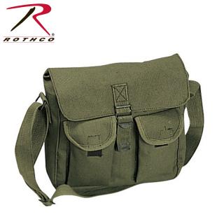 Rothco Canvas Ammo Shoulder Bag-Rothco