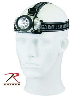 Rothco 9-Bulb LED Headlamp-