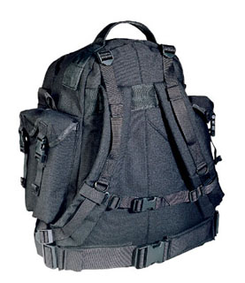 Black Special Forces Assault Pack