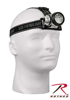 Rothco LED Multi-Function Color Lens Headlamp-Rothco