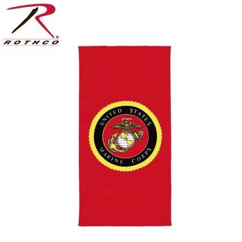 Rothco Beach Towel - Military Insignia-Rothco