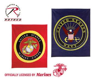 Rothco Military Insignia Fleece Blankets-Rothco