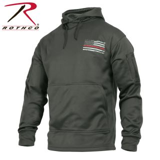 2332_Rothco Thin Red Line Concealed Carry Hoodie-