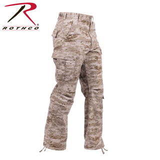 Rothco Vintage Camo Paratrooper Fatigue Pants-