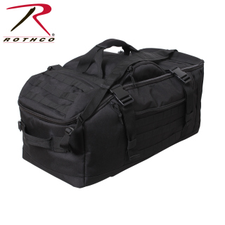 Rothco 3 In 1 Convertible Mission Bag - Black-Rothco