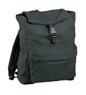 Rothco Canvas Daypack - Black