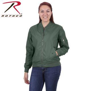 Rothco Womens MA-1 Flight Jacket-Rothco