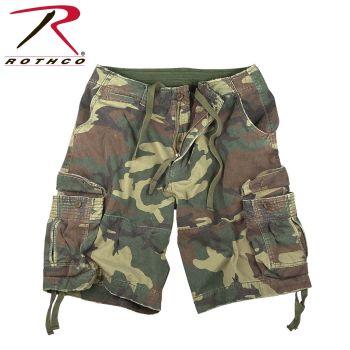 2540_Rothco Vintage Camo Infantry Utility Shorts-Rothco