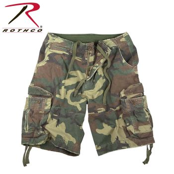 Rothco Vintage Camo Infantry Utility Shorts-Rothco