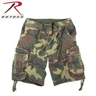 2543_Rothco Vintage Camo Infantry Utility Shorts-