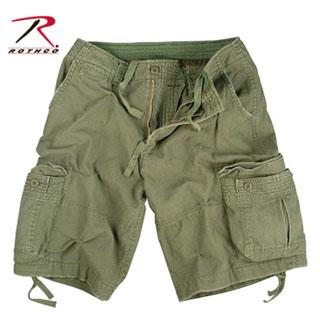 Vintage Olive Drab Infantry Utility Shorts