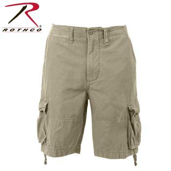 2549 Vintage Khaki Infantry Utility Shorts
