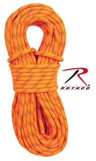 Rothco 150 Orange Rescue Rappelling Rope-