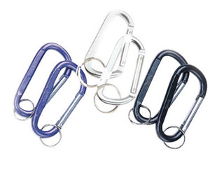 Rothco Jumbo 80mm Carabiner With Key Ring-Rothco