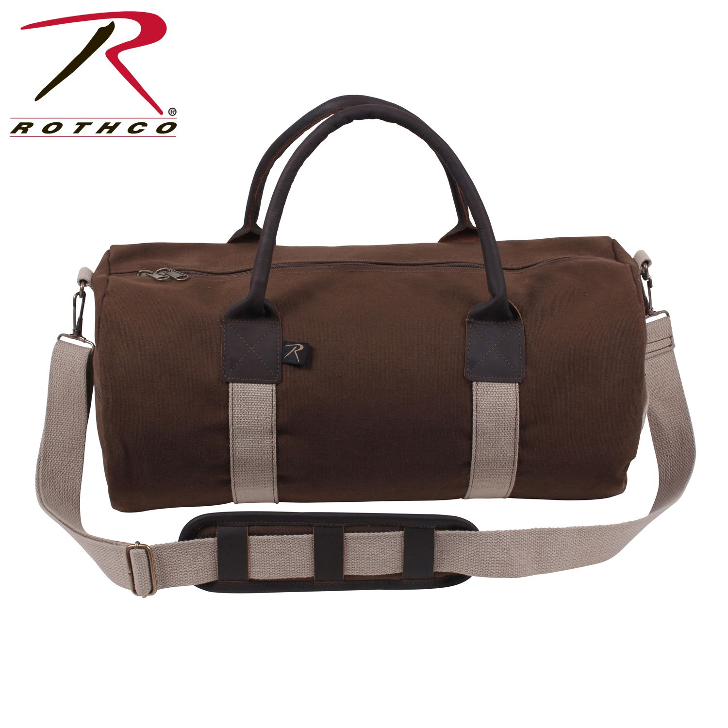 28b04fc014 Buy Rothco Canvas   Leather Gym Duffle Bag - Rothco Online at Best ...