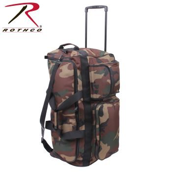 Rothco Camo 30 Military Expedition Wheeled Bag-Rothco