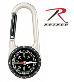 Rothco Carabiner Compass-