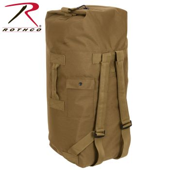 Rothco G.I. Type Enhanced Double Strap Duffle Bag-Rothco