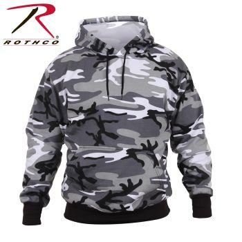Rothco Camo Pullover Hooded Sweatshirt-Rothco