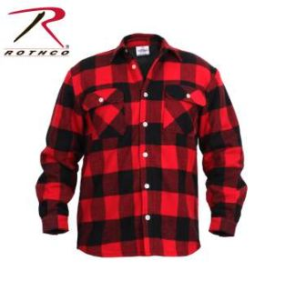 Rothco Fleece Lined Flannel Shirt-