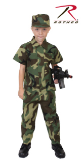 Rothco Kids Camouflage Soldier Costume-