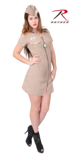 Rothco Womens Khaki Military Costume-