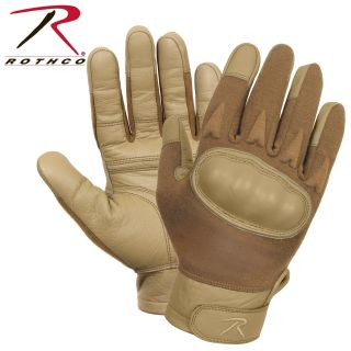 Rothco Hard Knuckle Cut and Fire Resistant Gloves-