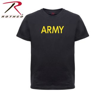 Rothco Kids Army Physical Training T-Shirt-Rothco