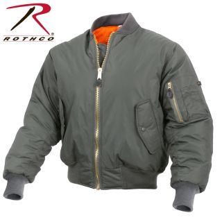 2861_Rothco Enhanced Nylon MA-1 Flight Jacket-Rothco