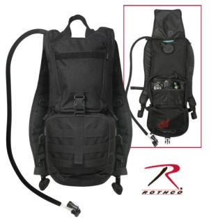 2865_Rothco Rapid Trek Hydration Pack - Black-
