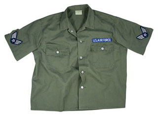Rothco Vintage Army Air Force Short Sleeve BDU Shirt-