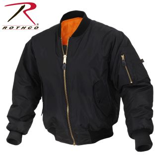 Rothco Enhanced Nylon MA-1 Flight Jacket-Rothco