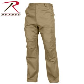 Rothco Relaxed Fit Zipper Fly BDU Pants-Rothco