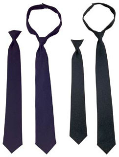 30082 30080 Police Issue CLIP-ON NECKTIE