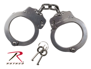 Rothco NIJ Approved Stainless Steel Handcuffs-Rothco