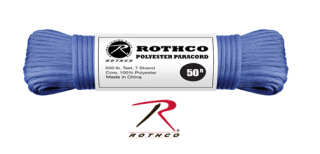 Rothco Polyester Paracord - 50 Ft / Royal Blue