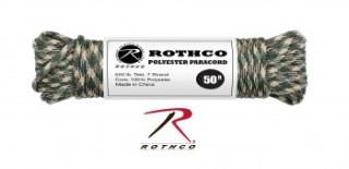 Rothco Camo Polyester Paracord-