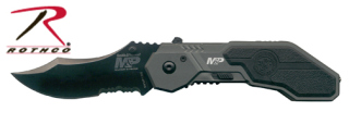 3095_Smith & Wesson Assisted Opening Military & Police Knife-Rothco