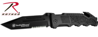 Smith & Wesson Border Guard Rescue Knife-Rothco