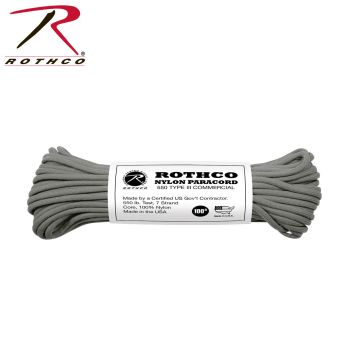 Rothco Nylon Paracord Type III 550 LB 100FT-