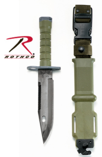 Gi M-9 Bayonet And Scabbard