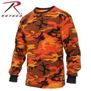 3137_Rothco Long Sleeve Colored Camo T-Shirt-Rothco