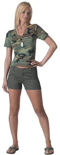 Rothco Womens Shorts - Olive Drab