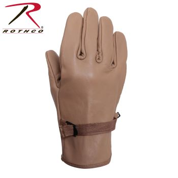 Rothco D3-A Type Leather Gloves-