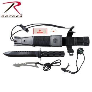 Rothco Jungle Survival Kit Knife-Rothco