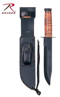 GI Style Marine Corps Combat Knife-Rothco