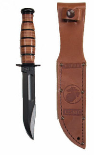 Shorty Ka-bar USMC Fighting Knife-