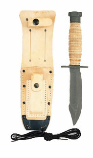 GI Pilots Survival Knife-Rothco